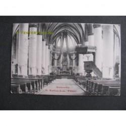 Weert 1911 - St.Martinuskerk - middenschip