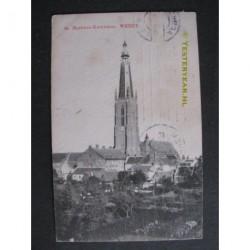 Weert 1909 - St.Martinuskerk - toren