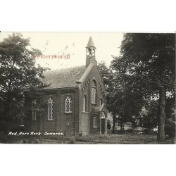 Someren 1934 - Ned.Herv.Kerk - fotokaart