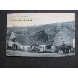 Maastricht 1902 - ingang grot St.Pietersberg