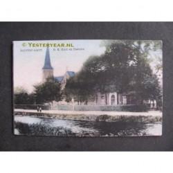 Dedemsvaart 1926 - R.K.Kerk en pastorie