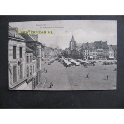 Maastricht 1910 - St.Mathiaskerk en Boschstraat