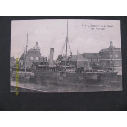 Harlingen 1908 - Haven - S.S.Talisman