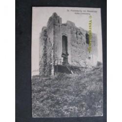 Maastricht 1922 - St.Pietersberg ruine Lichtenberg