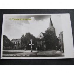 Goor 1941 - Kerkplein Herv.Kerk