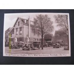 Noordwijk ca. 1925 - Garage - Pension - Th.v.Went - Centrum