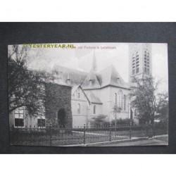 Lutjebroek 1917 - R.C.Kerk met pastorie