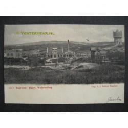 Overveen 1902 - Haarl. Waterleiding - watertoren