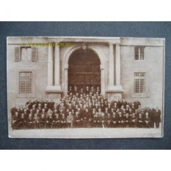 Roosendaal 1913 - mannenkoor St.Raphael in Rome-fotokaart