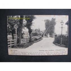 Scharwoude 1904 - gem.Averhorn - overweg