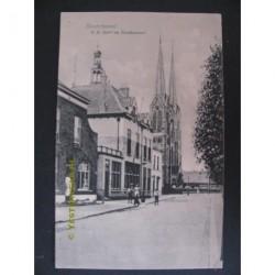 Kaatsheuvel ca. 1920 - R.K.Kerk en Postkantoor