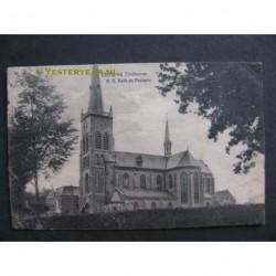 Oerle 1921 - R.K. kerk en pastorie