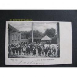 Oudenbosch 1900 - Kleine Cour - Inst.St.Louis