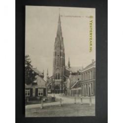 Veghel ca. 1915 - St.Lambertuskerk - Kerkstraat