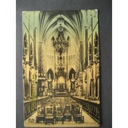 Veghel 1906 - St.Lambertuiskerk-interieur
