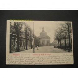 Waspik 1902 - Gezicht op de R.K.Kerk