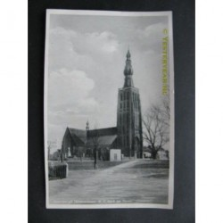 Hilvarenbeek 1945 - R.K.Kerk en toren