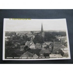 Eibergen 1935 - gezicht op - oost en Herv.Kerk