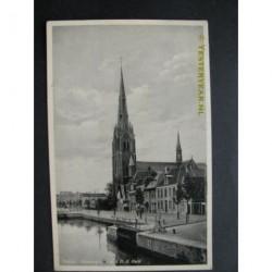 Weesp 1937 - Heerengracht mer R.K.Kerk