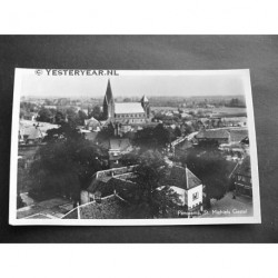 St.Michielsgestel 1954 - Panorama met kerk