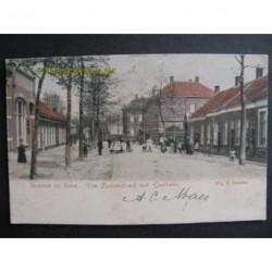 Bergen op Zoom 1904 - v.Dedemstraat met Gasthuis