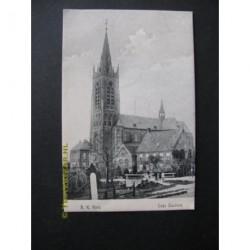 Lage Zwaluwe 1909 - R.K. Kerk en pastorie