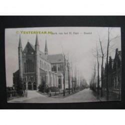 Bladel ca. 1915 - kerk van het H.Hart