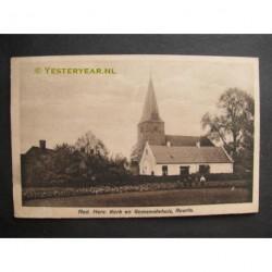 Ruurlo 1912 - Ned.Herv.Kerk en gemeentehuis