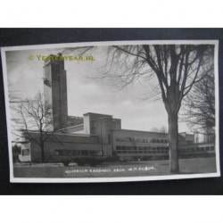 Hilversum ca. 1945 - raadhuis arch.Dudok - fotokaart