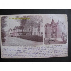Houthem 1902 - Hotel Cypers en tramhalte St.Gerlach - villa