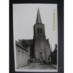 Dongen ca. 1945 - Geref.Kerk - fotokaart