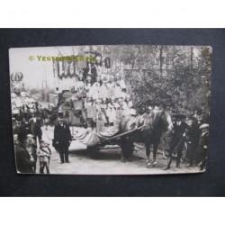 Veghel 1930 - optocht 40 jaar Kon.Wilhelmina reg.-fotokaart