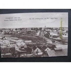 Ede 1920 - panorama met Herv.Kerk