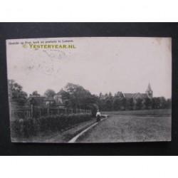 Loenen 1903 - gezicht opProt.Kerk en pastorie