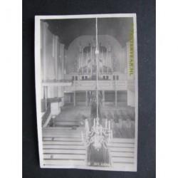 Varsseveld 1939 - interieur Herv.Kerk fotokaart
