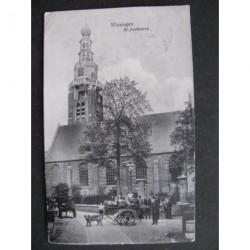 Vlissingen 1908 - bij de St.Jacobskerk