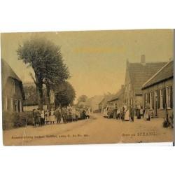 Sprang 1908 - dorpstraat-Berkers Verbunt no.650