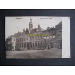 Roermond ca. 1914 - Markt - Stadhuis (militair)