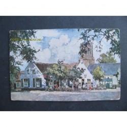 Laren ca. 1929 - cafe 't Bonte Paard - naar een aquarel