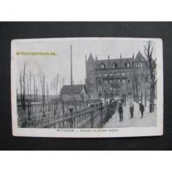 Rotterdam 1906 - Veerdam (in en weer bootjes)