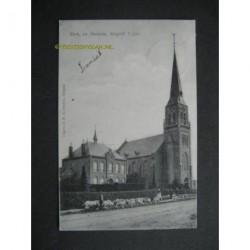 Bergeijk 1907 - kerk en pastorie - 't Loo