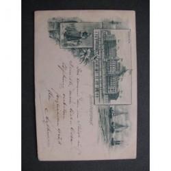 Scheveningen 1896 - groet uit - (3 afb.) - voorloper