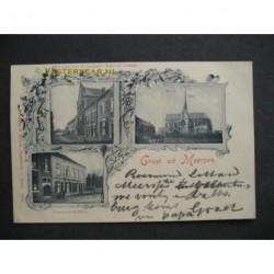 Meerssen 1899 - groet uit (3 afb.) - voorloper