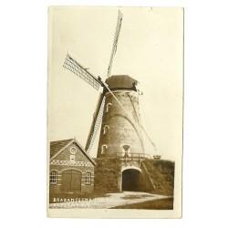 Zeeland 1940 - Brabantsche Molen - fotokaart (N.Br.)