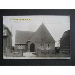 Zeeland 1939 - Parochiehuis Cornelius - fotokaart (N.Br.)