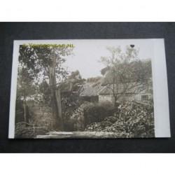 Zeeland / Langenboom 1925 - boerderij - stormramp- - fotokaart