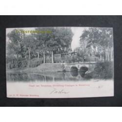 Middelburg 1904 - Singel met stoomtram Middelburg/Vlissingen