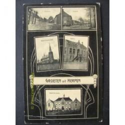 Herpen 1909 - groeten uit (5 afb.)