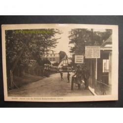 Beek 1912 - grens Nederland/Duitsland - douane