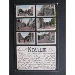 Kollum 1905 - groeten uit (6 afb.)